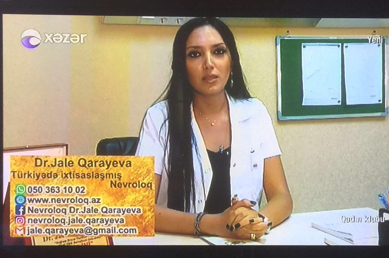 Nevropatoloq Dr. Jalə Qarayeva
