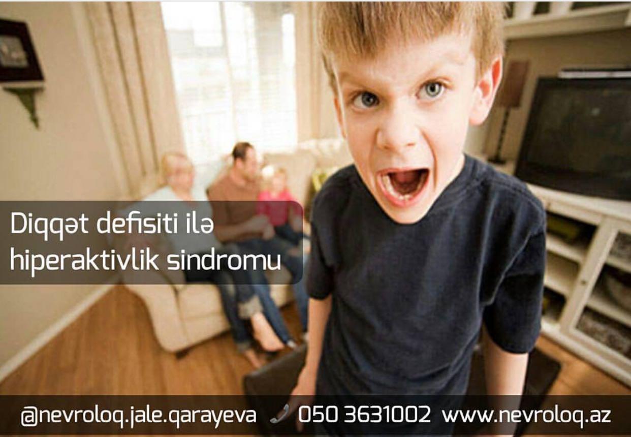 Diqqət Defisiti Ilə Hiperaktivlik Sindromu